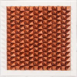 Quadro Geometrical Cobre