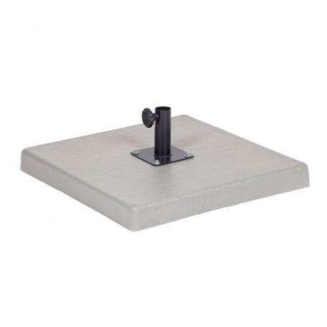 7853121-Base Ombrelone Central Prime Concreto 65 x 65