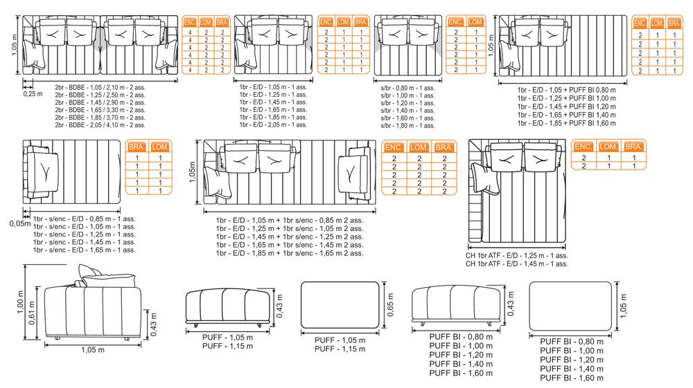 Desenho técnico Arttis