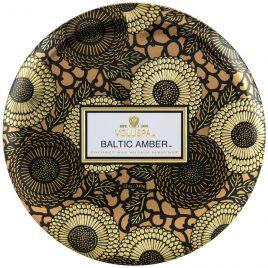 Vela Voluspa Baltic Amber Lata 3 Pavios