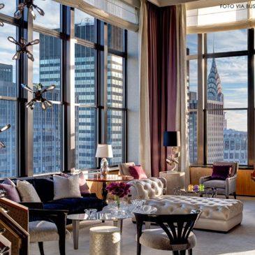 O luxo das Penthouses de Manhattan