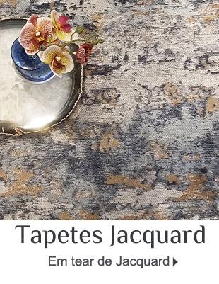 Tapetes em Tear de Jacquard