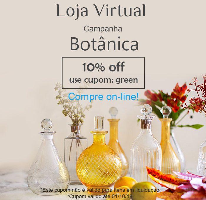 Loja Virtual - Campanha Botânica