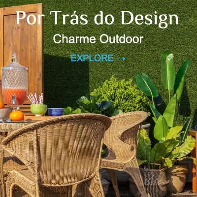 Por Trás do Design - Charme Outdoor