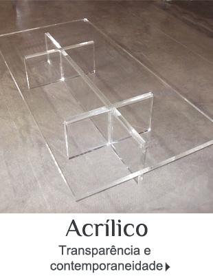 Móveis de Acrílico