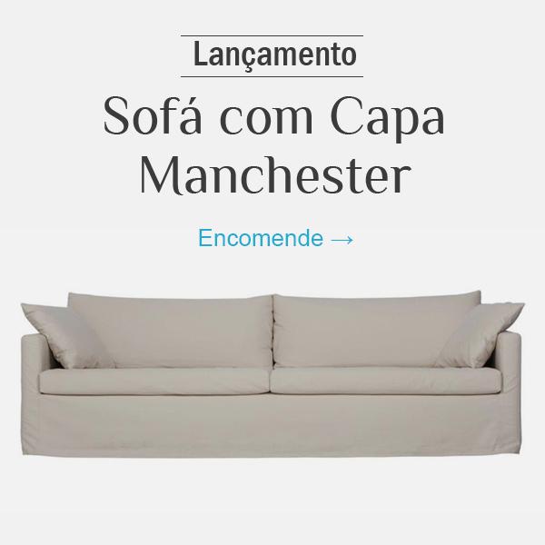 Sofá com Capa Manchester