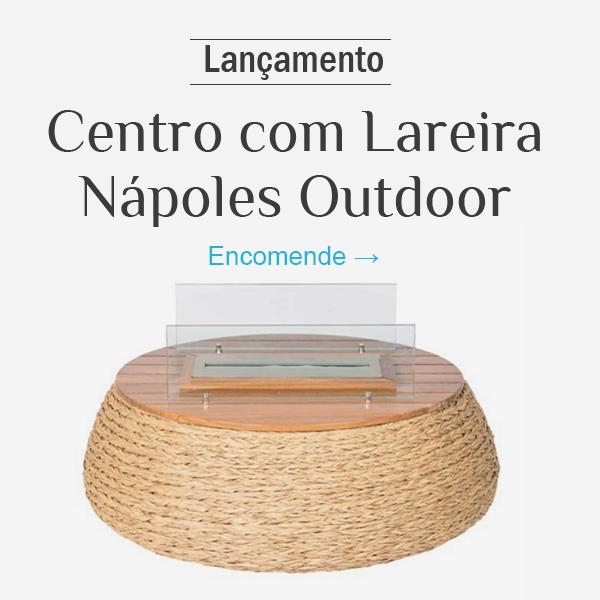 Nápoles Centro com Lareira