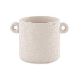 Cachepot Cimento Off White